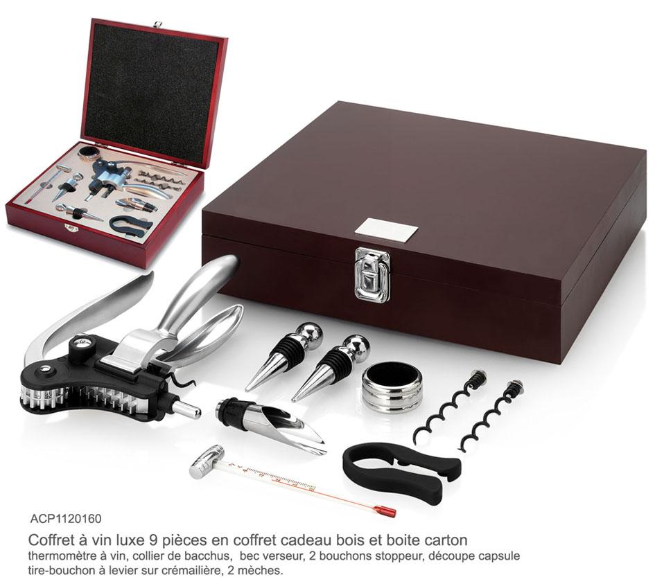 Vin art de la table coffret vin publicitaire cadeaux d 39 affaires objets publicitaires www Set de table publicitaire prix