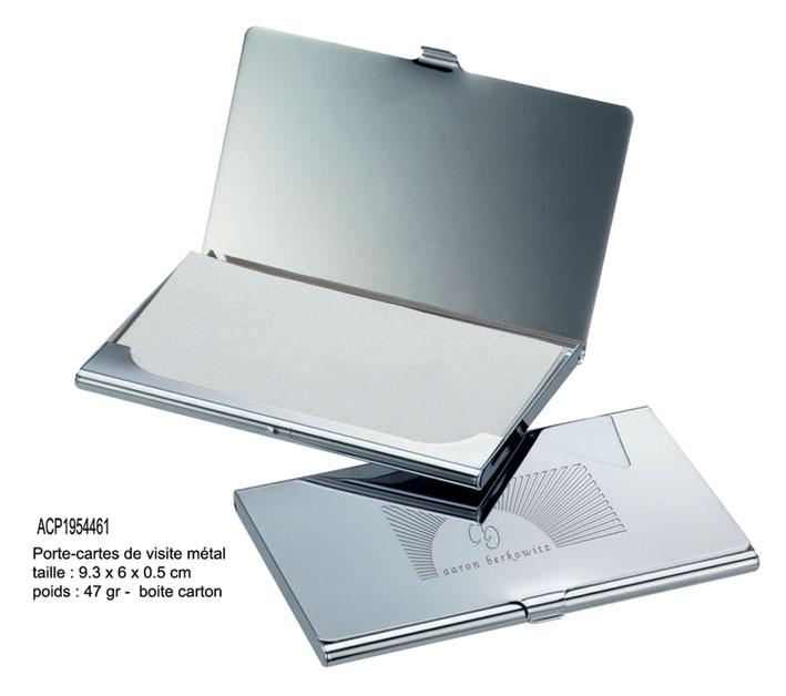 Beau Porte Cartes En Metal Brillant Livre Boite Cadeau AC1954461 X 100 Pc 378 EUR