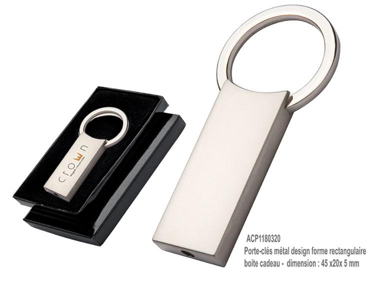 Porteclés Publicitaire Fabricant Portecles AIC Créations - Porte clé à graver