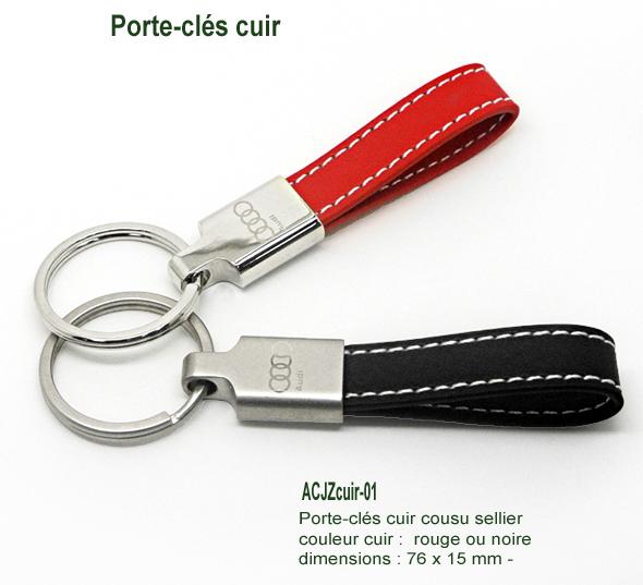 AIC Fabricant Portecles Porteclés Métal PVC Cuir Acrylique - Porte clef cuir